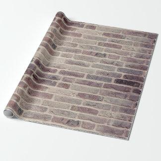 Kundenspezifisches Backsteinmauer-Packpapier Geschenkpapier