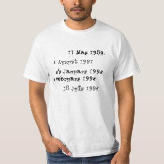 Kundenspezifisches Bibliotheks-Abgabefrist-Shirt T-Shirt
