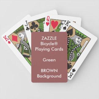 Kundenspezifisches Bicycle® Grün-Spielkarten Bicycle Spielkarten