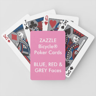 Kundenspezifisches Bicycle® Poker-Spielkarten Bicycle Spielkarten