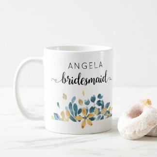 Kundenspezifisches Brautjungfern-Geschenk, das Kaffeetasse