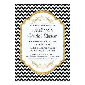 Kundenspezifisches Brautparty laden ein, das 12,7 X 17,8 Cm Einladungskarte
