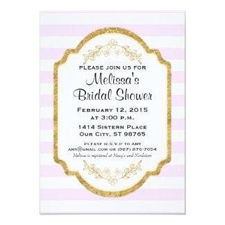 Kundenspezifisches Brautparty laden, rosa 12,7 X 17,8 Cm Einladungskarte