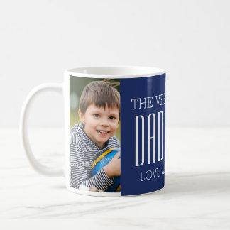 Kundenspezifisches der Vatertags-Tassen-Blau Foto- Tasse