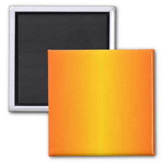 Kundenspezifisches dunkelorangefarbiges Gelb Quadratischer Magnet