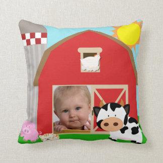 Kundenspezifisches Foto-Bauernhof-Kissen Kissen