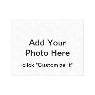 Kundenspezifisches Foto eingewickelte Leinwand