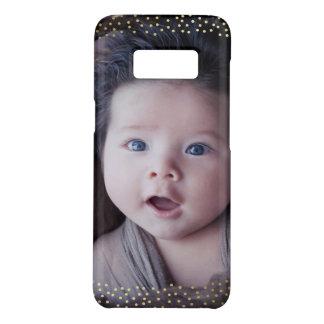 Kundenspezifisches Foto-Minigold punktiert Case-Mate Samsung Galaxy S8 Hülle