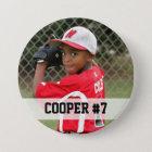 Kundenspezifisches Foto trägt Knopf/Button mit Runder Button 7,6 Cm