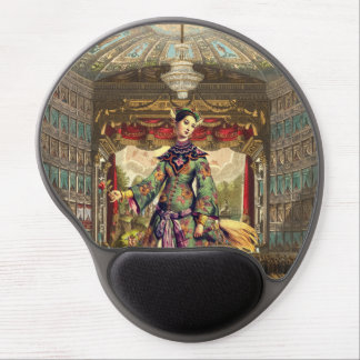 Kundenspezifisches Gel Mousepad - Vintages Theater
