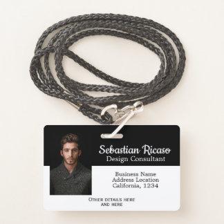 Kundenspezifisches Geschäfts-personalisiertes Ausweis