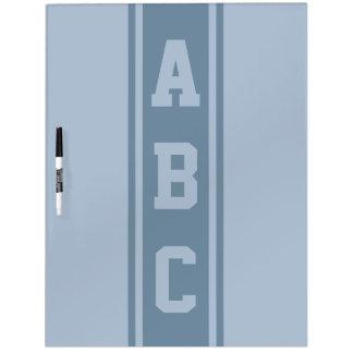 Kundenspezifisches Initialen-Anschlagbrett der bre Memo Boards