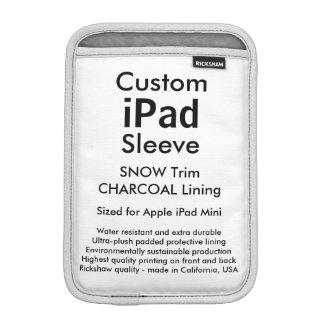 Kundenspezifisches iPad Minihülse - (Schnee u.