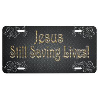 Kundenspezifisches Jesus-Kfz-Kennzeichen US Nummernschild