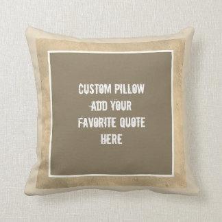 kundenspezifisches Kissen addieren Ihren eigenen