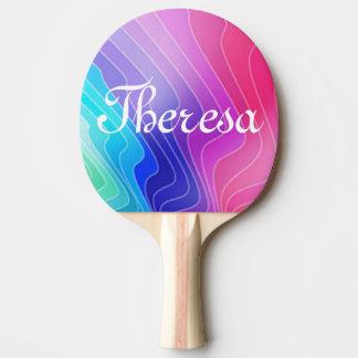 Kundenspezifisches Klingeln Pong Paddel Tischtennis Schläger