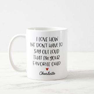 Kundenspezifisches Lieblingskind Kaffeetasse