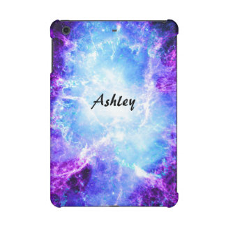 Kundenspezifisches lila blaues Galaxie Savvy iPad