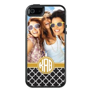 Kundenspezifisches Monogramm-Muster des OtterBox iPhone 5/5s/SE Hülle