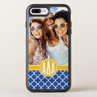 Kundenspezifisches Monogramm-Muster des OtterBox Symmetry iPhone 8 Plus/7 Plus Hülle