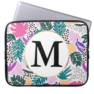 Kundenspezifisches Monogramm-tropische