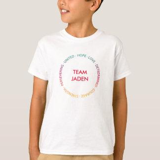 Kundenspezifisches motivierend Stützt-stück in der T-Shirt