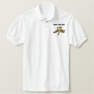 Kundenspezifisches Motorrad gesticktes Shirt Besticktes Poloshirt
