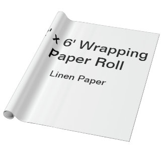 Kundenspezifisches Packpapier (Rolle 2x6,