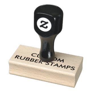 """Kundenspezifisches personalisiertes 1,5"""" x 3"""" gummistempel"""