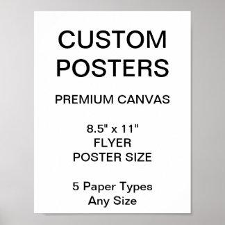 """Kundenspezifisches personalisiertes 8,5"""" x 11"""" poster"""
