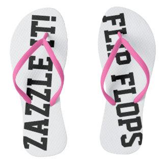 Kundenspezifisches personalisiertes drehen flip flops