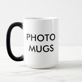 Kundenspezifisches personalisiertes Foto-magische Verwandlungstasse