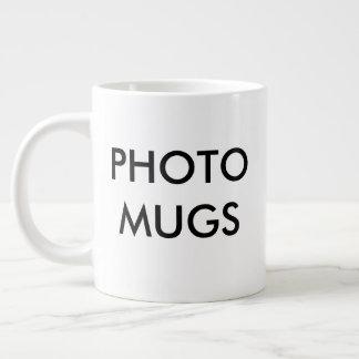 Kundenspezifisches personalisiertes Foto-riesiger Jumbo-Tasse
