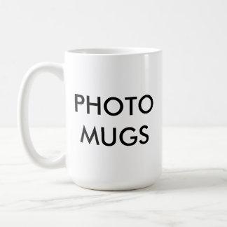 Kundenspezifisches personalisiertes Foto-weißer Kaffeetasse