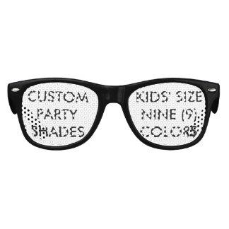 Kundenspezifisches personalisiertes Retro Party Kinder Sonnenbrillen