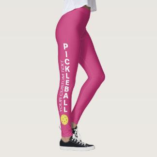 Kundenspezifisches Pickleball Verein-Team Ihr Leggings