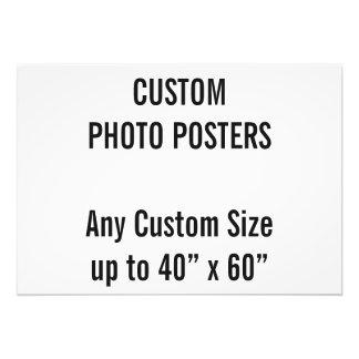 """Kundenspezifisches Plakat des Foto-A2, bis 40"""" x Fotodruck"""