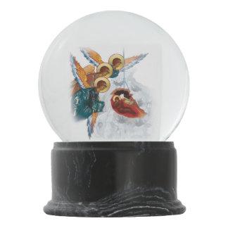 Kundenspezifisches Snowglobe mit Geburt Schneekugel