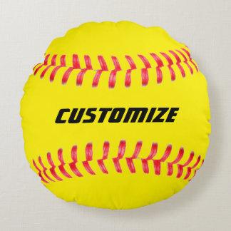 Kundenspezifisches Softball-Kissen Rundes Kissen