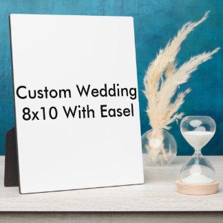 Kundenspezifisches Wedding 8x10 mit Gestell Fotoplatte