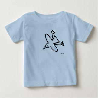 Kunst-Baby: John-Farbstoff-Seemöwe-Zeichnen Baby T-shirt