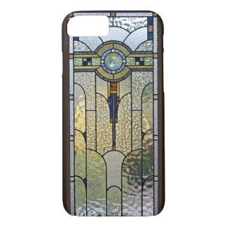 Kunst-Deko-beflecktes Glasfenster iPhone 7 Fall iPhone 7 Hülle