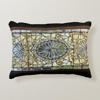 Kunst-Deko-beflecktes Glasfenster-Kissen Dekokissen