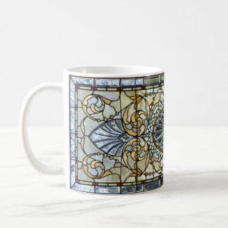 Kunst-Deko-beflecktes Glasfenster-Tasse Tasse