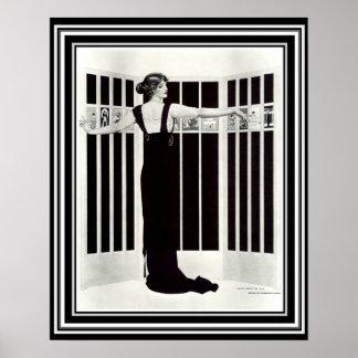 """Kunst-Deko """"Bild-Schirm"""" 16 x 20 Coless Phillips Poster"""