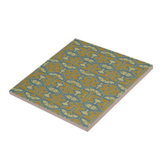 Kunst-Deko-Flair - erste Veränderung Kleine Quadratische Fliese