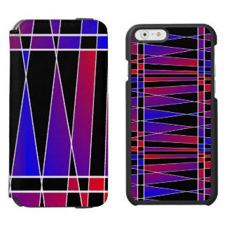 Kunst-Deko 'Fractured Incipio Watson™ iPhone 6 Geldbörsen Hülle