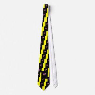 Kunst-Deko-Hahn (Juwel-Ton) Bedruckte Krawatte