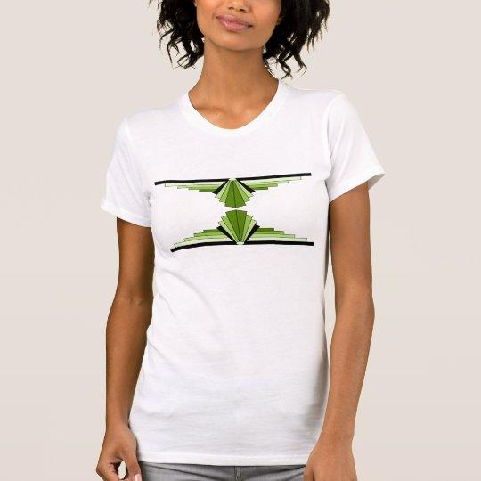 Kunst-Deko-Muster in den Kalken T-Shirt