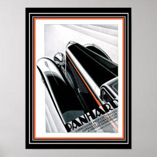 Kunst-Deko Panhard Anzeige Alexis Kow (1932) Poster